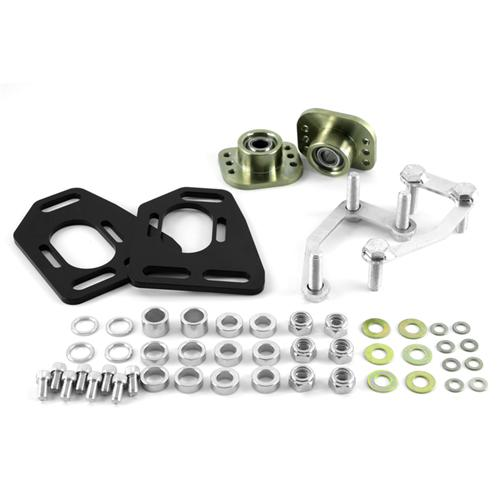 SVE Mustang Caster Camber Plates  - Black (90-93)
