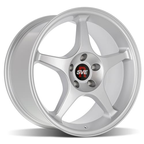 SVE Mustang 40 Cobra R Style Wheel 40x4040 Silver 44040 Adorable 2000 Mustang Bolt Pattern