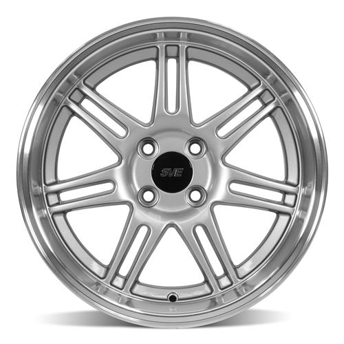 SVE Mustang Anniversary Staggered Wheel Kit - 17x9/10 Anthracite (79-93)