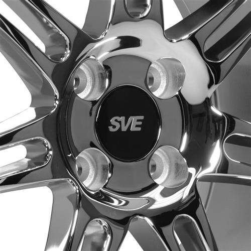 SVE Mustang Anniversary Wheel Kit - 17x9/10   - Chrome (79-93)