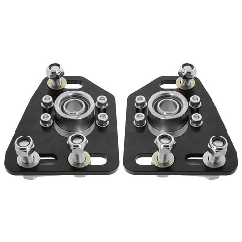 SVE Mustang Caster Camber Plates  - Black (79-89)
