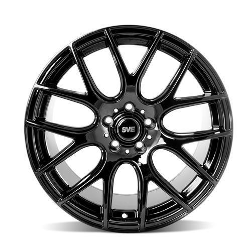 sve mustang drift wheel 18x10 gloss black 05 14 1979 Mustang Cobra
