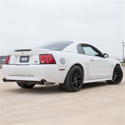 SVE Mustang Drift Wheel & Tire Kit - 18x9/10  - Gloss Black - NT05 Tires  (94-04)