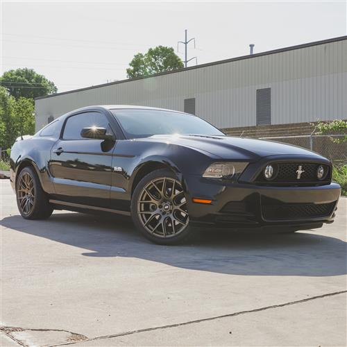 SVE Mustang Drift Wheel & Tire Kit - 19x9.5  - Satin Bronze - Ohtsu Tires (05-14)