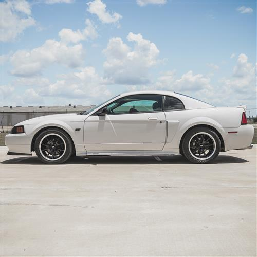 SVE Mustang FR500 Wheel & Tire Kit - 17x9  - Black - M/T Tires (94-04)