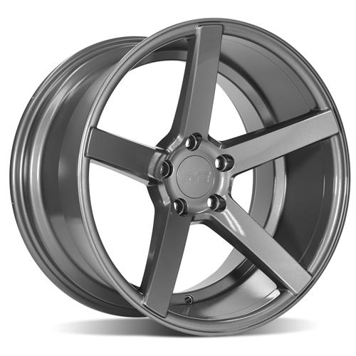 SVE Mustang NVX Wheel & Tire Kit - 18x9/10  - Gloss Graphite - NT555 G2 Tires (94-04)