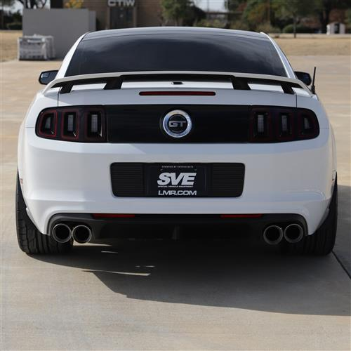 SVE Mustang Quad Tip Axle Back Exhaust Kit (13-14) GT500