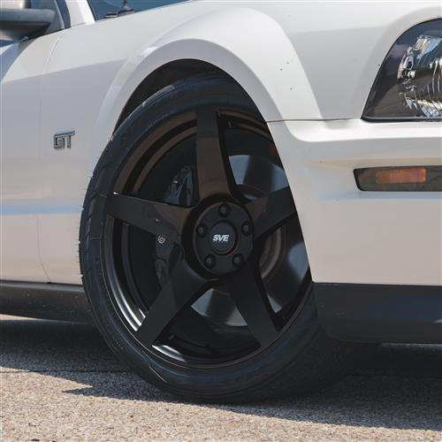SVE Mustang R355 Wheel - 19x10  - Gloss Black (05-19)