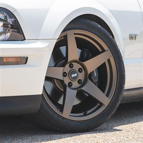 SVE Mustang R355 Wheel - 19x10  - Satin Bronze (05-19)