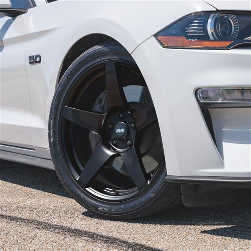 SVE Mustang R355 Wheel Kit - 19x10  - Gloss Black (15-19)