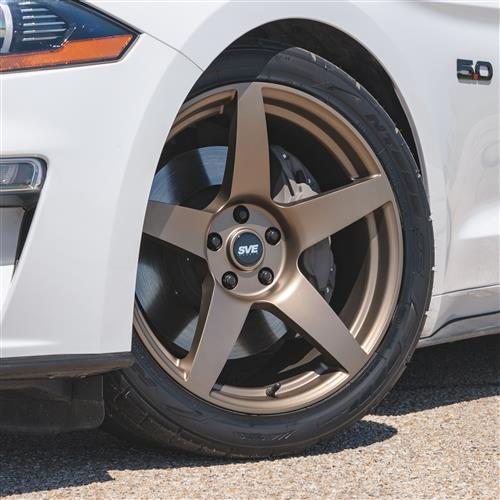 SVE Mustang R355 Wheel Kit - 19x10  - Satin Bronze (15-19)