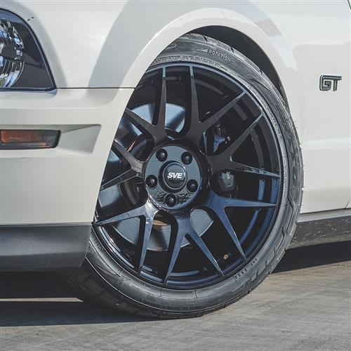 SVE Mustang R357 Wheel Kit - 19x10/11  - Gloss Black (05-14)