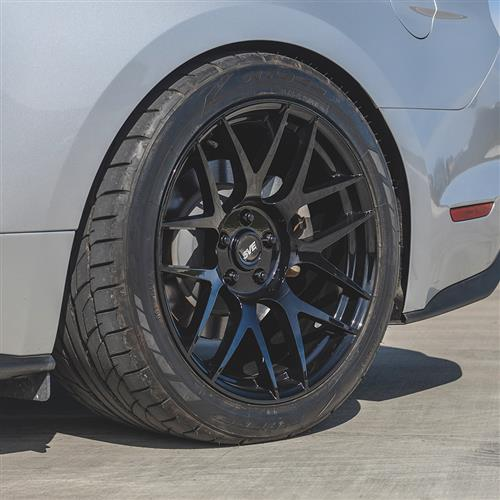 SVE Mustang R357 Wheel Kit - 19x10/11  - Gloss Black (15-19)