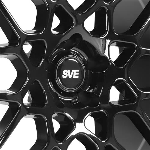 SVE Mustang S500 Wheel & 275 Tire Kit - 20x8.5/10  - Gloss Black (05-14) Nitto NT05