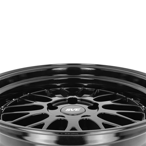 SVE Mustang Series 1 Wheel Kit - 18x9/10  - Gloss Black (94-04)