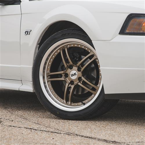 SVE Mustang Series 2 Wheel Kit - 18x9/10  - Satin Bronze (94-04)