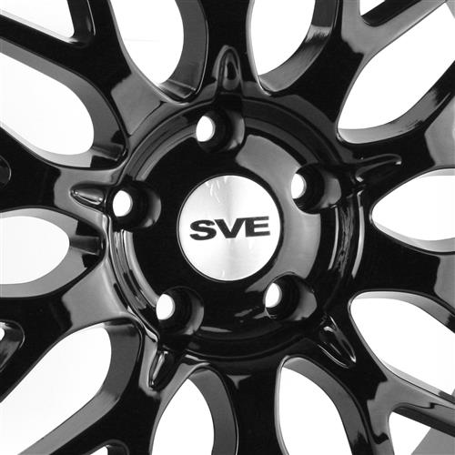 SVE Mustang Series 3 Wheel - 19x9 Gloss Black (05-17)