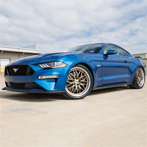 SVE Mustang Series 3 Wheel Kit - 20x8.5/10  - Satin Bronze w/ Machined Lip (15-18)