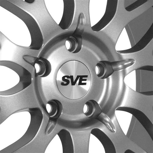 SVE Mustang Series 3 Wheel & Tire Kit - 20x8.5/10 Gun Metal (05-14) Nitto Invo