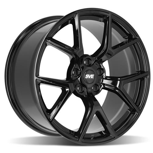 SVE Mustang SP2 Wheel Kit - 19x10/11  - Gloss Black (15-19)