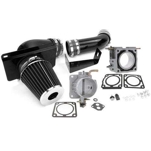 SVE Mustang Throttle Body and Cold Air Kit - 70mm (89-93) 5.0