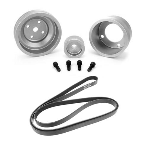 Sve Mustang Underdrive Pulley Amp Gates Micro V Belt Kit