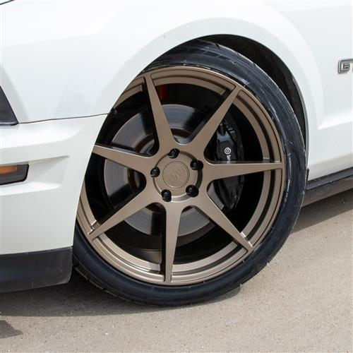 SVE Mustang XS7 Wheel Center Cap - Ceramic Bronze (05-20)