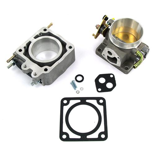 SVE Mustang 70mm Throttle Body & EGR Spacer Satin (86-93) 5.0L