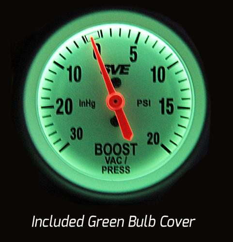 Picture of SVE Boost Gauge Illuminated