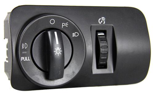 Mustang GT/V6 Headlight Switch with Fog Lights (05-09)