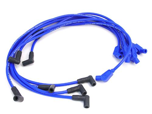 Mustang Spiro-Pro 8mm Spark Plug Wires Blue (86-93) 5.0 5.8 74658