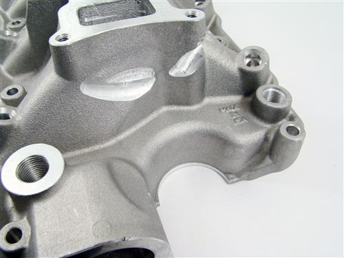 "86-95 MUSTANG 5.0L BLACK TRICK FLOW ""R"" SERIES INTAKE MANIFOLD WITH 75MM THROTTLE OPENING"