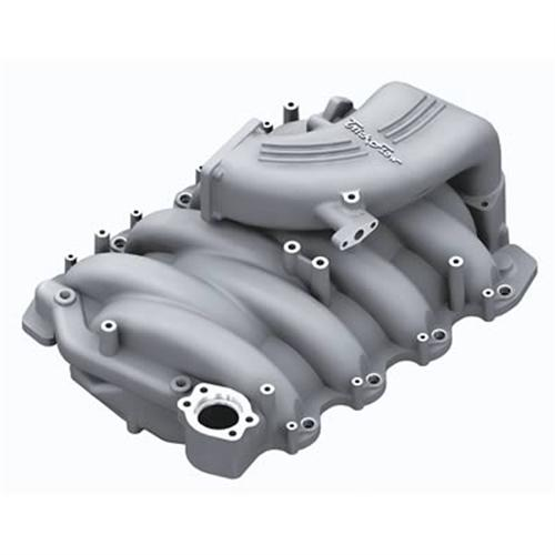 Trick Flow Mustang Track Heat Aluminum Intake Manifold Silver (99-04) GT 4.6 2V 51800002