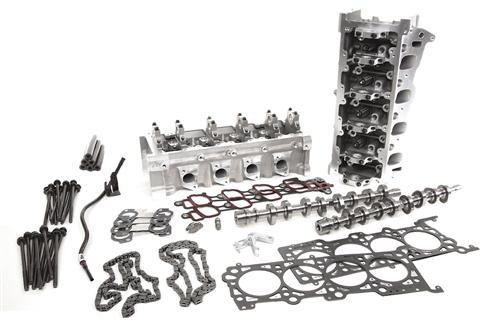 Trick Flow Mustang 380/375 Top End Engine Kit w/ 44cc Heads (96-04) 4.6 TFS-K519-380-375