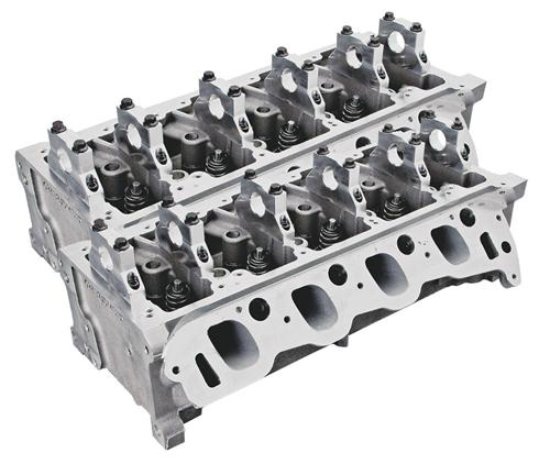 99-04 Ford Lightning 5.4L 2V TRICK FLOW TWISTED WEDGE  FULLY ASSEMBLED 185CC CYLINDER HEADS WITH 44CC COMBUSTION CHAMBER
