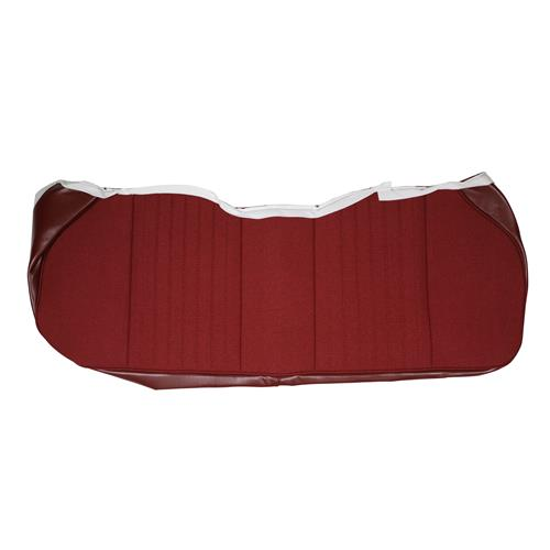 TMI Mustang Cloth Seat Upholstery - Sport Seats  - Ruby Red (1993) Hatchback 43-75626-6795-79