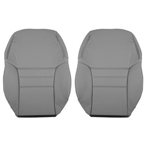 TMI Mustang Front Sport Seat Vinyl Upholstery  - Opal Gray (94-95) Coupe/Convertible 43-76304-6687
