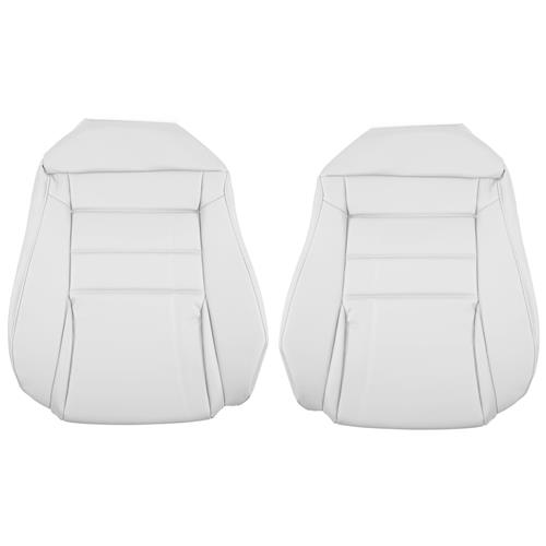 TMI Mustang Sport Seat Vinyl Upholstery Kit  - Oxford White (94-98) Convertible 43-77324-965