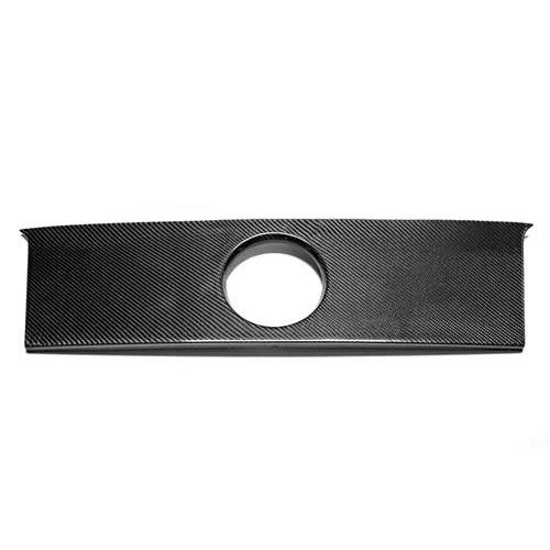 Trufiber Mustang Blackout Panel w/ Hole  Carbon Fiber (05-09) TC10024-LG34
