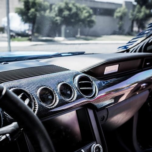 Trufiber Mustang Carbon Fiber Dash Kit - Performance Pack   (15-16)