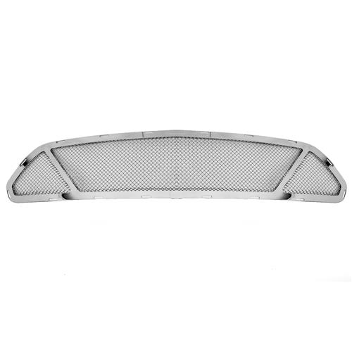 T-Rex Mustang Upper Class Partitioned Mesh Grille -Polished (15-16) 54529