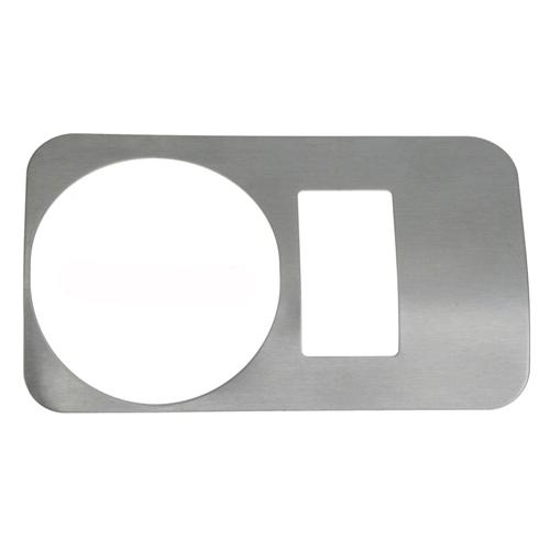 Mustang Headlight Knob Bezel Stainless Satin (05-09)