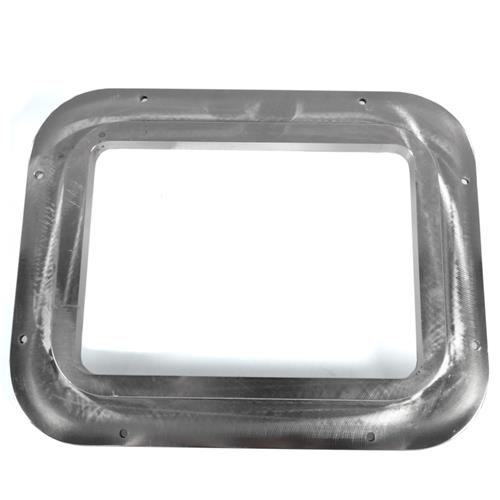UPR Mustang Billet Automatic Shifter Bezel  - Polished (87-93) 1048-02
