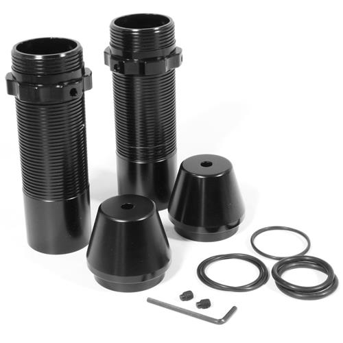 "UPR Mustang Rear Coil Over Kit - Black w/ 10"" Springs, 125lb Rate (79-04) 2006-114-10-125"