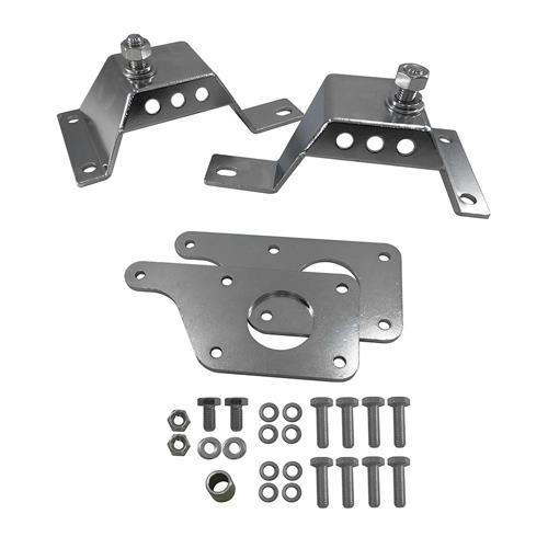 UPR Mustang LS Swap Adapter Plates w/ Solid 4.6 Mounts (79-04)