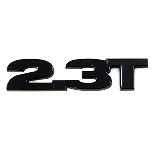2.3 TURBO EMBLEM GLOSS BLACK W