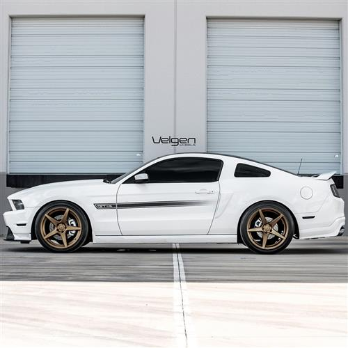 Velgen Mustang Classic5 Wheel Kit - 20x9/10.5  - Bronze (05-14)
