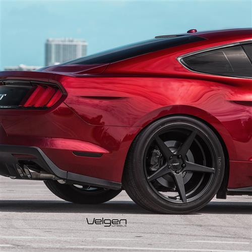 Velgen Mustang Classic5 Wheel Kit - 20x9/10.5  - Satin Black (15-18)