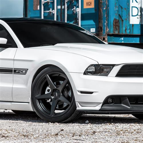 Velgen Mustang Classic5 Wheel Kit - 20x9/10.5  - Satin Black (05-14)