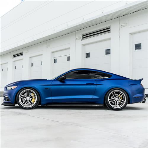 Velgen Mustang Split5 Wheel Kit - 20x9/10.5  - Matte Silver (05-14)